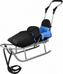 Sanie Baby Dreams Rider Plus cu Sac de iarna Speedy Albastru Saniute si patine