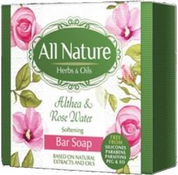 Sapun All Nature Althea and Rose water 100g Gel de dus, sapun lichid