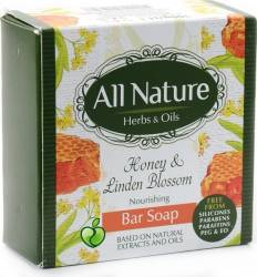 Sapun All Nature Honey and Linden blossom 100g Gel de dus, sapun lichid