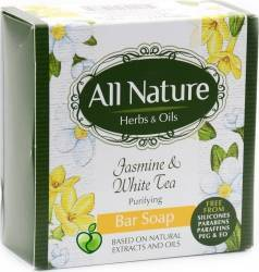 Sapun All Nature Jasmine and White Tea 100g Gel de dus, sapun lichid