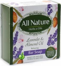 Sapun All Nature Lavender and Almond oil 100g Gel de dus, sapun lichid
