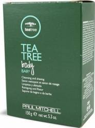Sapun de barbierit Paul Mitchell Tea Tree Body Bar Gel de Ras si Aftershave