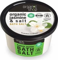 Sare de baie Organic Shop cu iasomie Kashmir Jasmine, 250 ml Gel de dus, sapun lichid