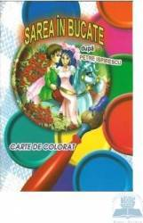 Sarea in bucate - Carte de colorat