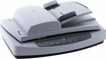 Scanjet 5590 HP Digital Flatbed Scanner ADF 2400 x 2400 dpi USB Refurbished Alb Scannere