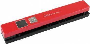 Scanner Portabil Iris IRIScan Anywhere 5 Rosu Scannere