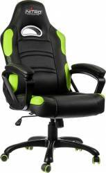 Scaun gaming Nitro Concepts C80 Comfort Black-Green Scaune Gaming