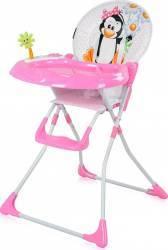 Scaun de masa fix Jolly Pink Penguin