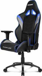 Scaun Gaming AKRacing Overture Albastru Scaune Gaming
