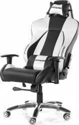 Scaun Gaming AKRacing Premium 7002 Silver Scaune Gaming