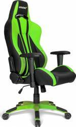 Scaun Gaming AKRacing Premium Plus Green Resigilat