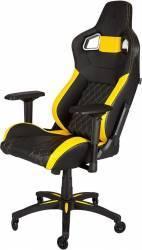 Scaun gaming Corsair T1 Race Negru-Galben Scaune Gaming