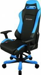 Scaun Gaming DXRacer Iron OH/IS11/NB Negru-Albastru Scaune Gaming