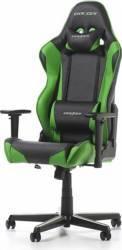 Scaun Gaming DXRacer Racing R0-NE Negru-Verde Scaune Gaming