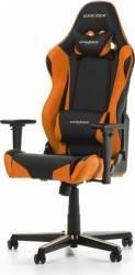 Scaun Gaming DXRacer Racing R0-NO Negru-Portocaliu Scaune Gaming