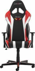 Scaun Gaming DXRacer Racing SD Telecom T1 Black/Red/White Scaune Gaming