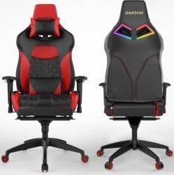 Scaun Gaming Gamdias Achilles P1 L Negru-Rosu Scaune Gaming