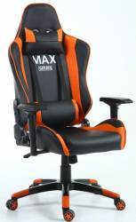 Scaun gaming Inaza Imperator MAX Series negru-portocaliu Scaune Gaming