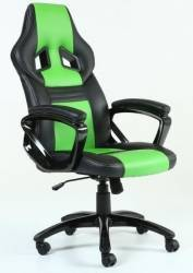 Scaun Gaming Inaza Legion Black/Green Scaune Gaming