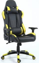 Scaun gaming Inaza Vespa negru-galben Scaune Gaming