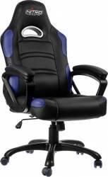 Scaun Gaming Nitro Concepts C80 Comfort Black-Blue Scaune Gaming