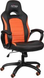 Scaun gaming Nitro Concepts C80 Pure Black-Orange Scaune Gaming