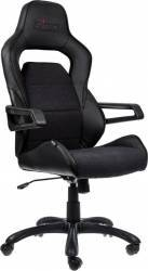 Scaun gaming Nitro Concepts E220 Evo Black Scaune Gaming