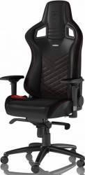 Scaun Gaming NobleChairs EPIC, Black Red Scaune Gaming