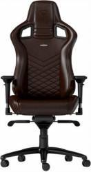 Scaun Gaming Noblechairs Epic Real Leather Maro-Negru Scaune Gaming