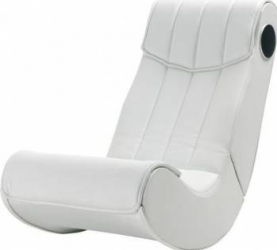 Scaun Gaming Rocker Basic Alb