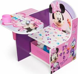 Scaun multifunctional din lemn Disney Minnie Mouse Scaune de masa