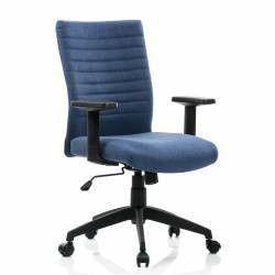 Scaun birou ergonomic LIMBO suport lombar stofa Albastru QMOBILI Scaune Birou
