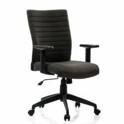 Scaun birou ergonomic LIMBO suport lombar stofa Negru QMOBILI Scaune Birou