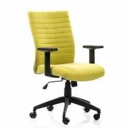 Scaun birou ergonomic LIMBO suport lombar stofa Verde QMOBILI Scaune Birou