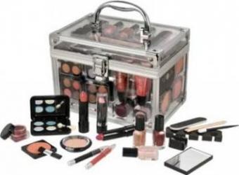 Paleta de culori Makeup Trading Schmink Set Transparent Make-up ochi