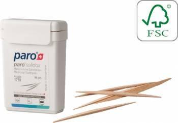Scobitori medicinale din lemn Paro Solidox Medium 2 capete 96buc