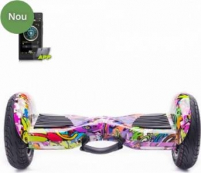 Scooter Electric Eboda Freewheel Monster S2 Smart Graffiti Mov Resigilat Vehicule electrice