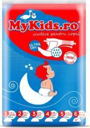 Scutece Copii MyKids New Junior+ 6 12-30 KG 46 Buc