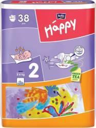 Scutece HAPPY 2 Mini 3-6 Kg 38 BUC