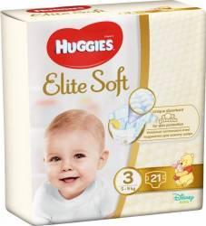 Scutece Huggies Elite Soft 3 5-9 kg 21 buc Scutece si servetele