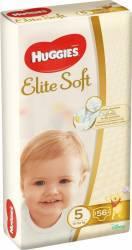 Scutece Huggies Elite Soft 5 12-22 kg 56 buc Scutece si servetele