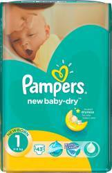 Scutece Pampers New Baby 1 New Born 43 buc