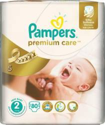 Scutece Pampers Premium Care 2 New Baby Value Pack 80 buc Scutece si servetele