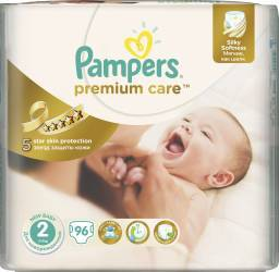 Scutece Pampers Premium Care S2 JP 96 buc