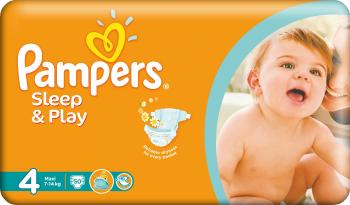 Scutece Pampers Sleep and Play 4 Maxi Value Pack 50 buc