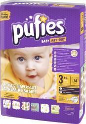 Scutece Pufies Baby Art midi NR 3-74 pcs jumbo pack