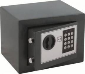 Seif cu inchidere electronica 170x230x170mm Gri Seifuri Lacate Feronerie