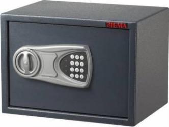 Seif cu inchidere electronica 250X350X250 mm Gri