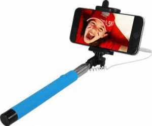 Selfie Stick ART KS10A Albastru Gimbal, Selfie Stick si lentile telefon