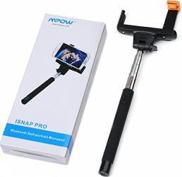 Selfie stick Bluetooth Mpow iSnap Pro 3in1